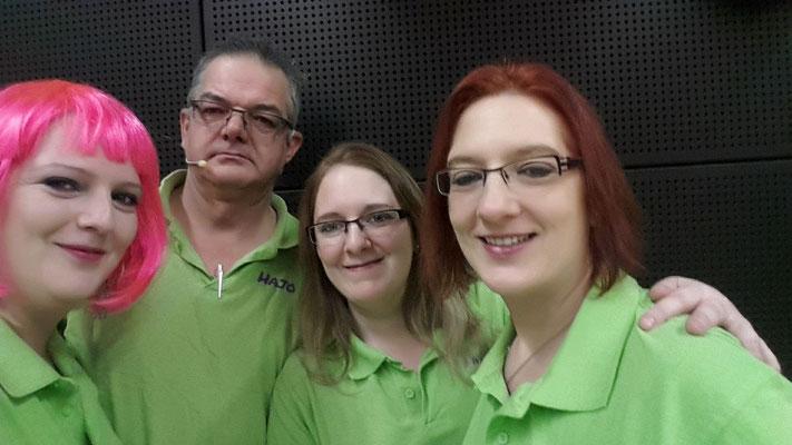 Team FizzRadio mit Gastmoderatorin Anne