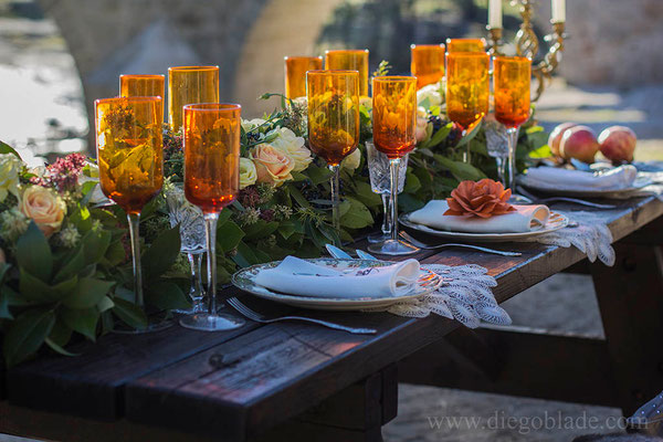granada-centro-mesa-naranja-rosa-detalle