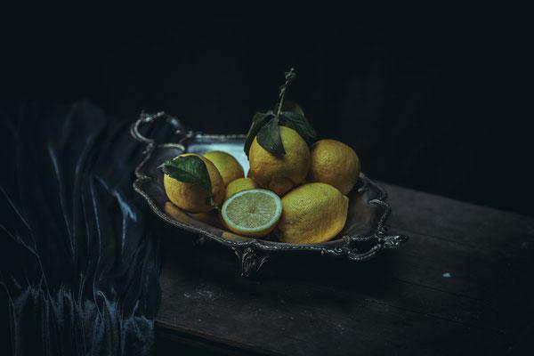 photographie culinaire citron