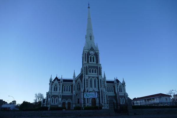 Grotekerk in Graaf Reinet am Abend
