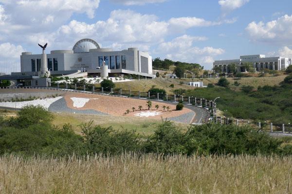 Der Präsidentenpalast - Sitz des derzeitigen Präsidenten Hage Geingob
