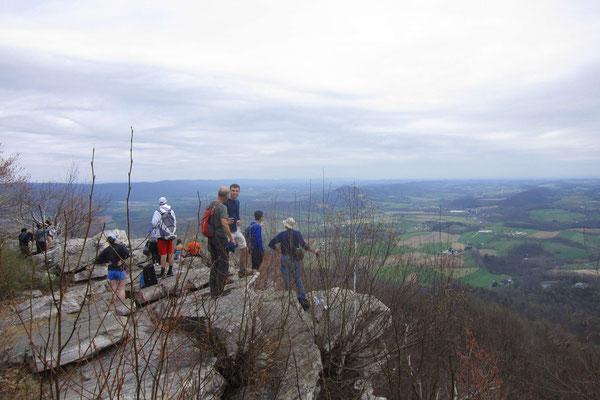 Der Pinnacle-Aussichtspunkt