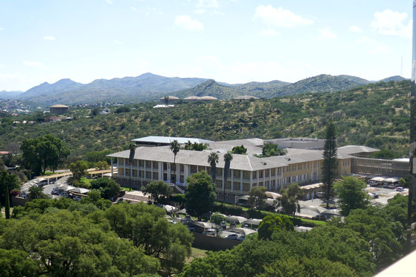 Der Tintenpalast - das Parlamentsgebäude von Windhoek