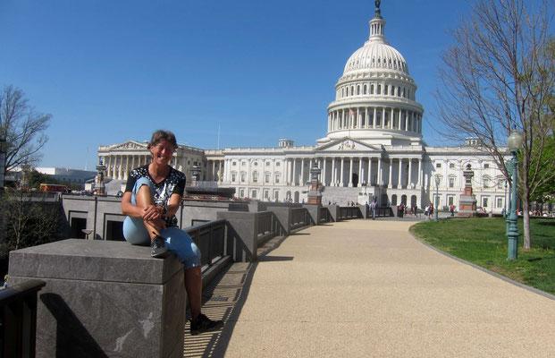 Rückansicht des Capitols