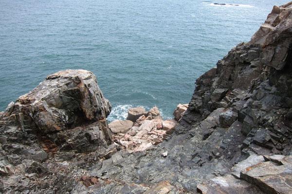 Steilküste im Acadia