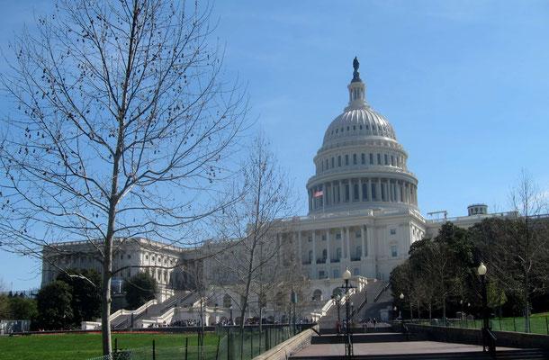 Vorderansicht des Capitols