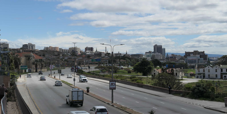 Blick Richtung Stadtzentrum