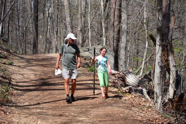 Hans und Nolla Mae im Rock Creek Park