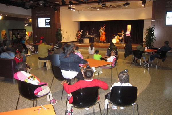 Jazzkonzert im Museum of American History