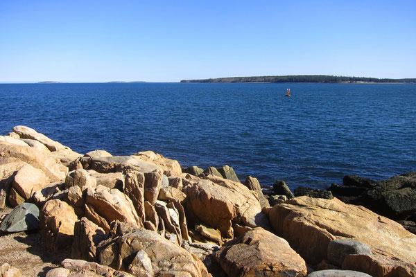 Atlantikküste bei Bass Harbor