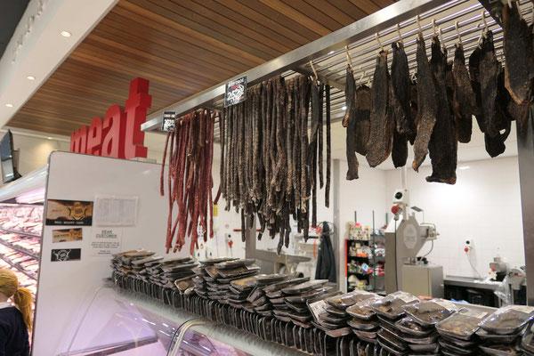 Biltong - das ist afrikanisches Trockenfleisch vom Rind
