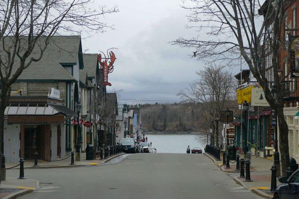 Main Street von oben