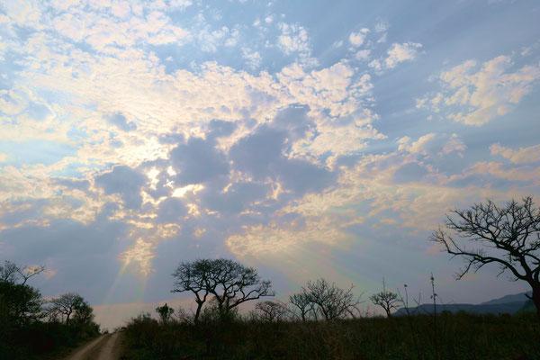 Gewitterwolken ziehen auf