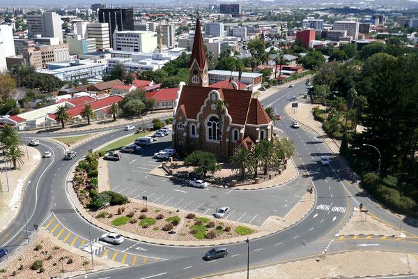 Die Christuskirche im Zentrum von Windhoek