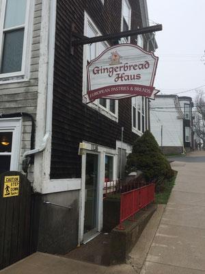 Das Gingerbread Haus, die deutsche Bäckerei, von außen