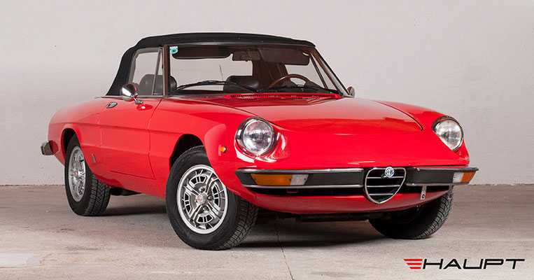alfa romeo spider veloce hauptsache oldtimers webseite. Black Bedroom Furniture Sets. Home Design Ideas