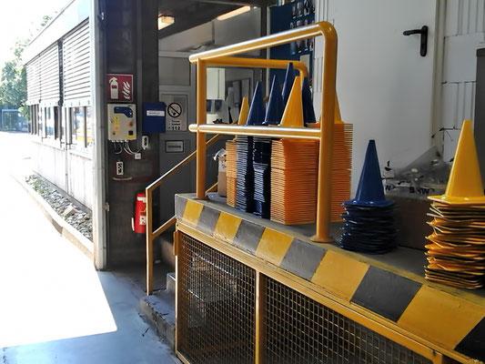 Geländer / Absturzsicherung