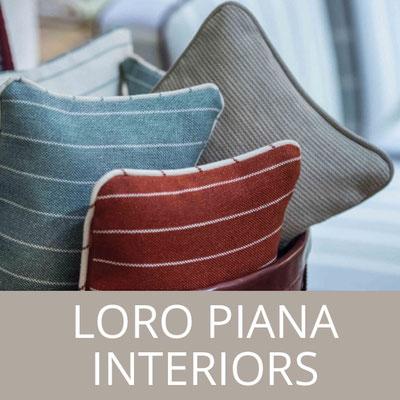Loro Piana Interiors – eine Marke im Vertrieb von Team Jarck