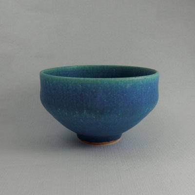 """*Shigaraki-yaki Machawan """"Turquoise Blue Glaze"""""""