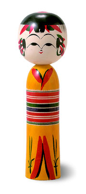 "Traditional Kokeshi ""Yajiro"""