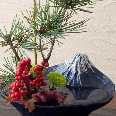 """* Ikebana Vase """"sakasa FUJI"""""""
