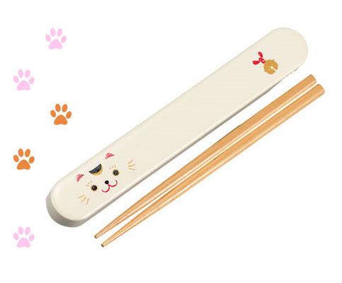 """""""Lucky cat"""" (chopstick 18 cm)"""