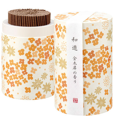 KAMEYAMA Incense sticks -Kinmokusei- Osmanthus Fragrans (Duftblüte)