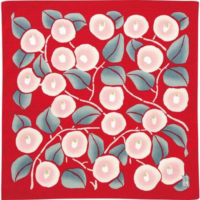 No.1) TSUBAKI - Camellia -red
