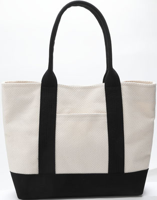 * sashiko Tote bag (white)