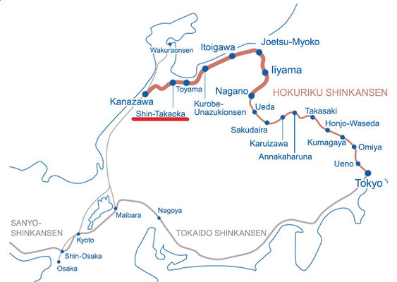 Hokuriku Shinkansen Line