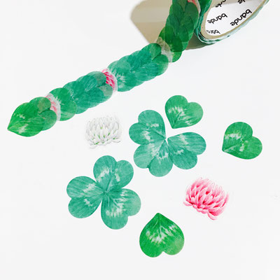 """Masking roll stickers """"Clover"""""""