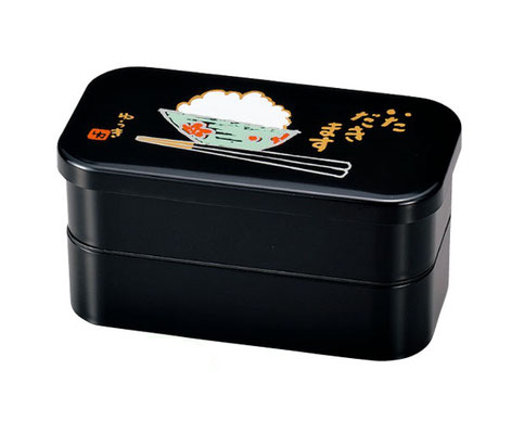 "*Bento-box ""Itadakimasu"", 2-layer, 1000ml"