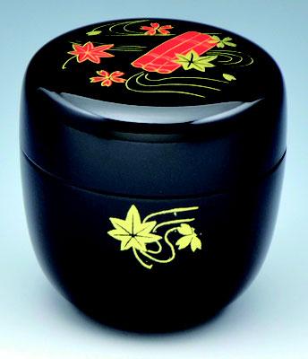 *NATSUME tea caddy / Teebehälter