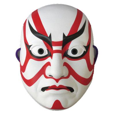 """Sujikuma"" - kabuki Kumadori Make-up -"
