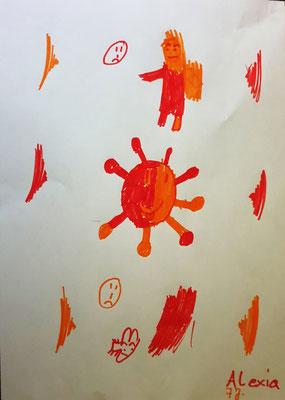 """Das Virus"", Alexia, 7 Jahre"