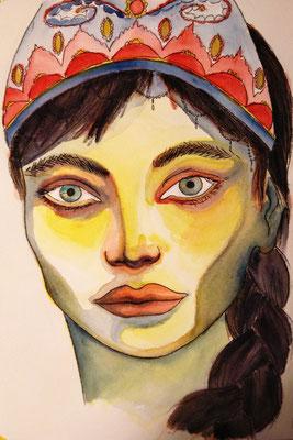 """Königin Corona"", Johanna, 22 Jahre"