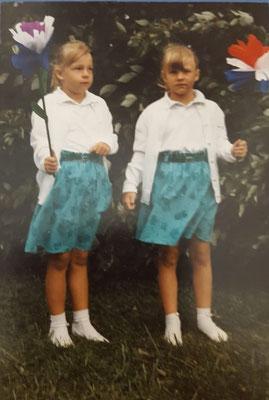 Bettina und Melanie