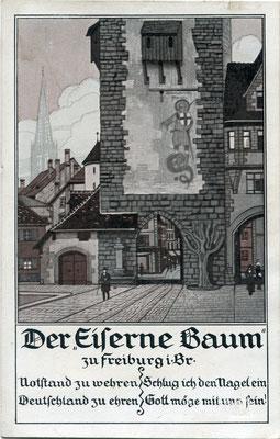 Nagelspenden am Schwabentor (Bild: Archiv Oehler)