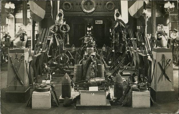 Kriegsausstellung 1916 (Bild: Archiv Oehler)