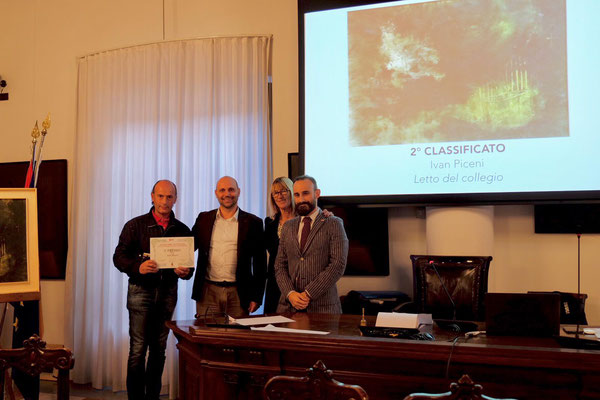 "2° classificato: Ivan Picenni - ""Letto del collegio"""