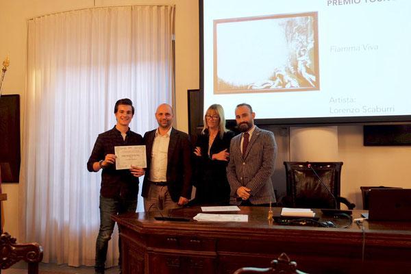 """Premio Giovani: Lorenzo Scaburri - """"Fiamma viva"""""""