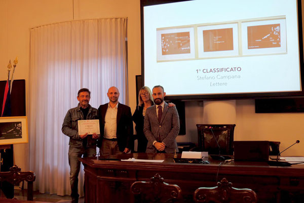 "1° classificato: Stefano Campana  - ""Lettere"""