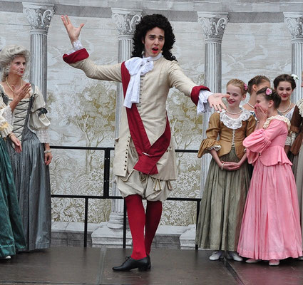 Barockballett Ballett de Cour Schlossfest