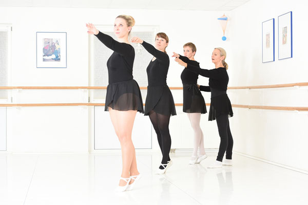 Erwachsene Training Klassisches Ballett