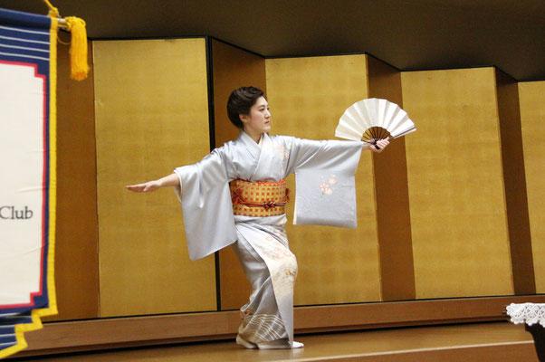 日本舞踊 若柳吉千智