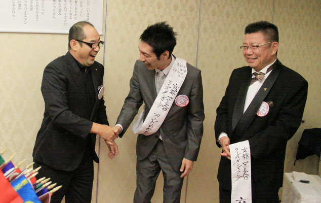 違う写真ですが、最優秀Y吉賞は岸田Yでした。