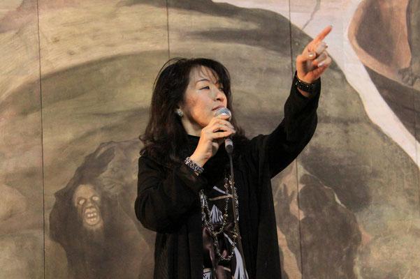 ボーカルの浦千鶴子さん
