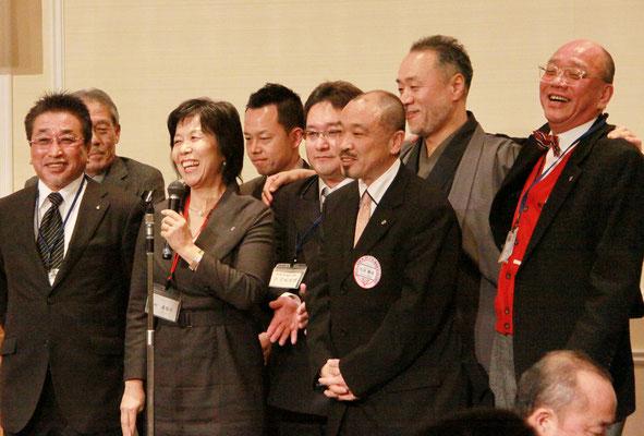 熊本ジェーンズから上村会長も出席。
