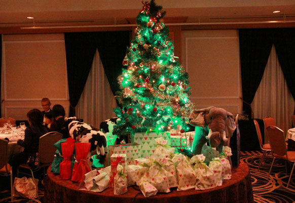 プレゼントがいっぱい。