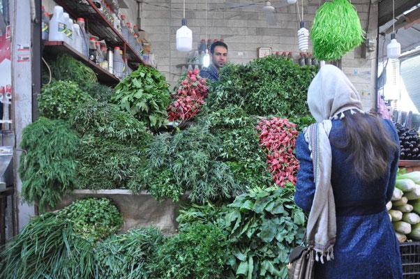 Grünfutter in Sanandaj